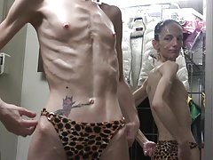 Anorexic in the mirror